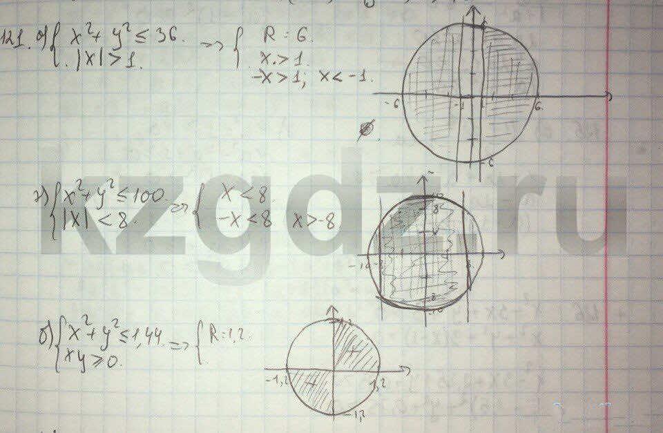 Алгебра Абылкасымова 9 класс  Упражнение 121