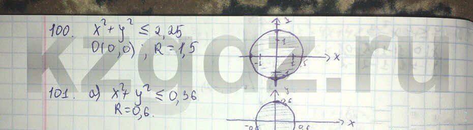 Алгебра Абылкасымова 9 класс  Упражнение 100
