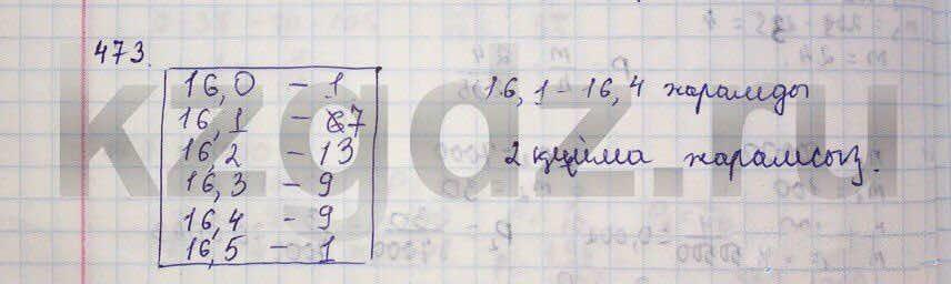Алгебра Абылкасымова 9 класс  Упражнение 473