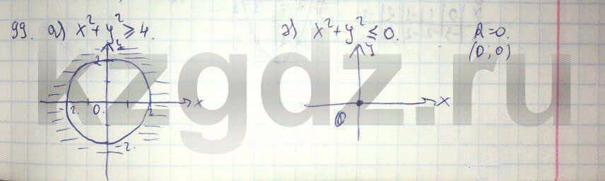 Алгебра Абылкасымова 9 класс  Упражнение 99