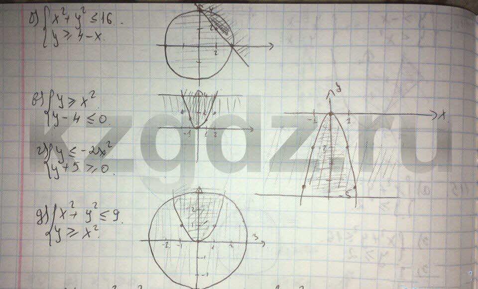 Алгебра Абылкасымова 9 класс  Упражнение 117