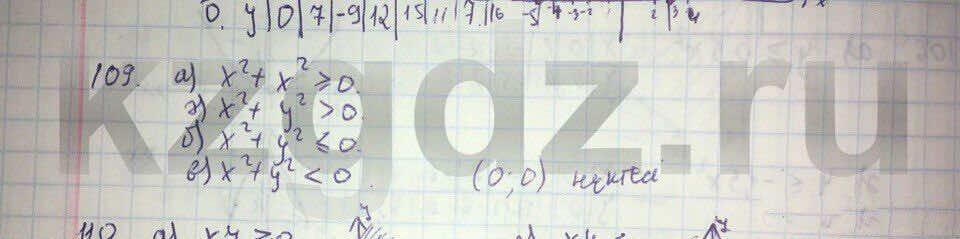 Алгебра Абылкасымова 9 класс  Упражнение 109