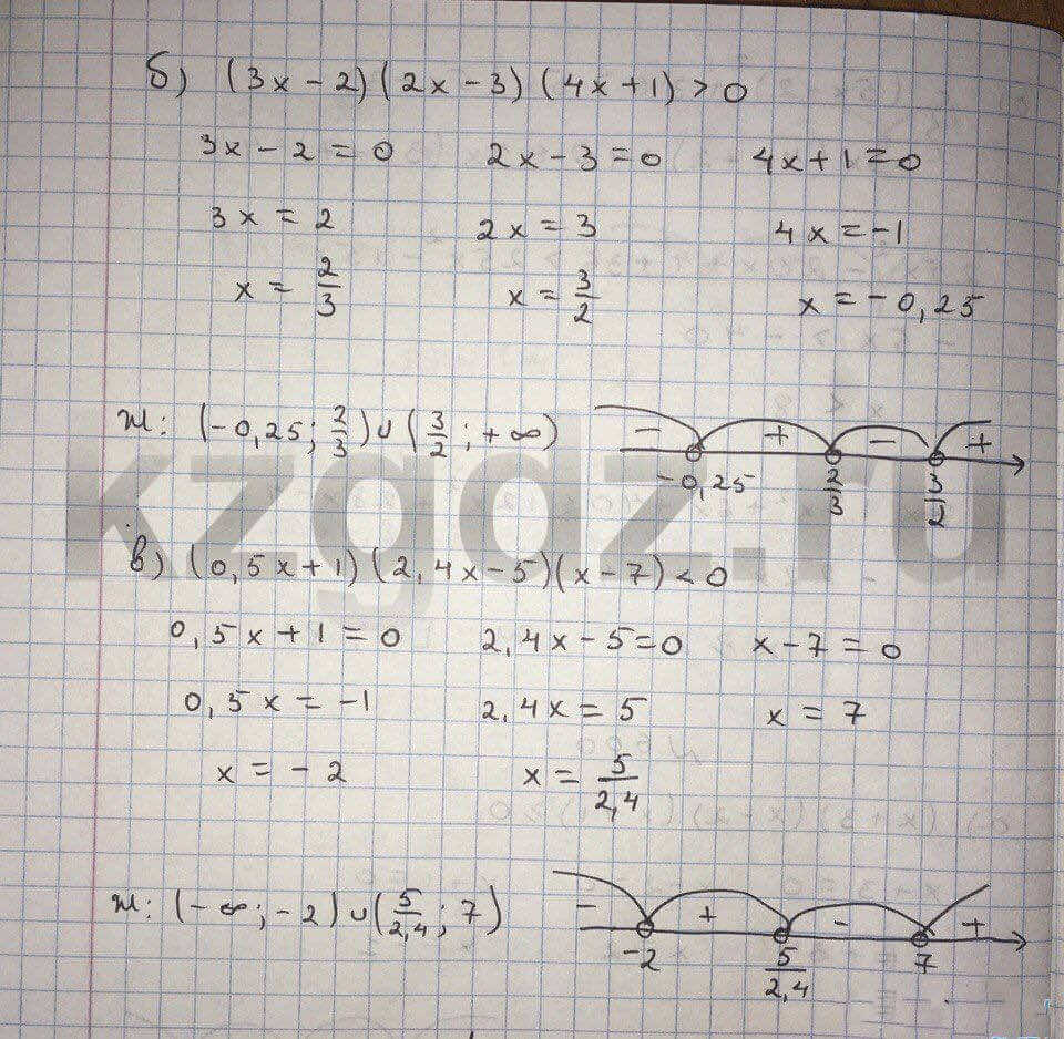 Алгебра Абылкасымова 9 класс  Упражнение 600