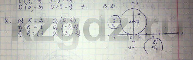 Алгебра Абылкасымова 9 класс  Упражнение 32