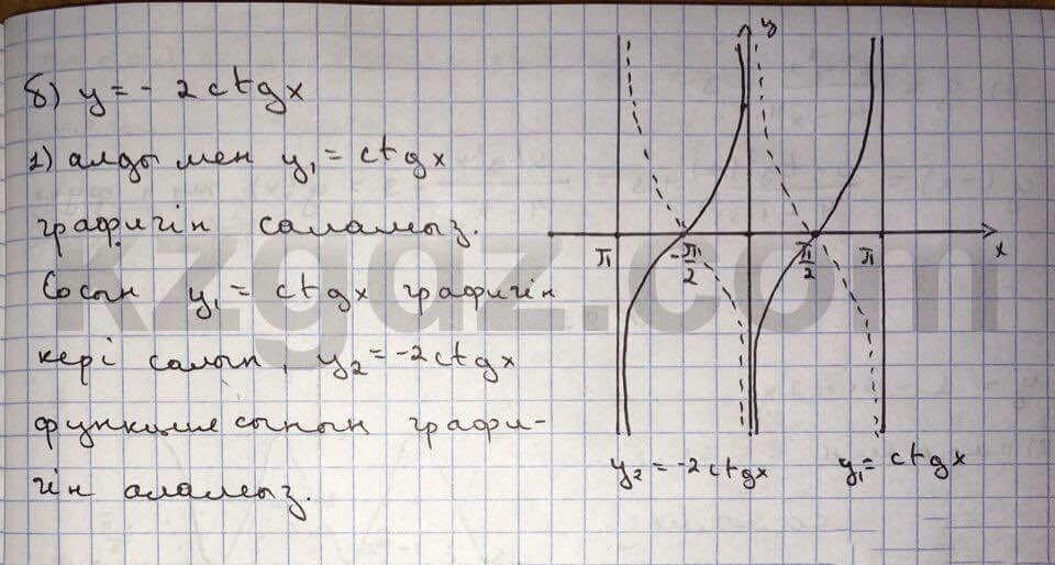 Алгебра Абылкасымова 10 класс Естественно-математическое направление  Упражнение 79