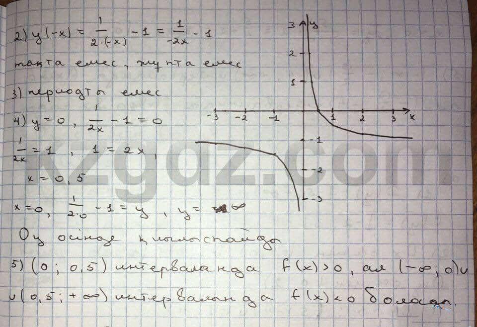 Алгебра Абылкасымова 10 класс Естественно-математическое направление  Упражнение 74