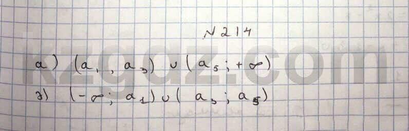 Алгебра Абылкасымова 10 класс Общетвенно-гуманитарное направление  Упражнение 214