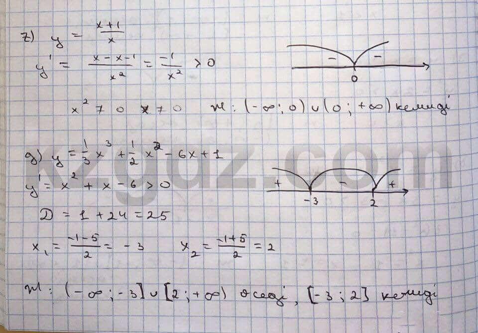Алгебра Абылкасымова 10 класс Общетвенно-гуманитарное направление  Упражнение 346