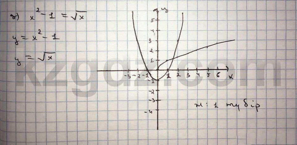 Алгебра Абылкасымова 10 класс Общетвенно-гуманитарное направление  Упражнение 43